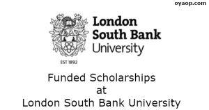 Funded Scholarships at London South Bank University