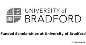 Funded Scholarships at University of Bradford
