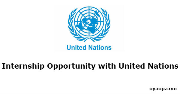Internship Opportunity with United Nations