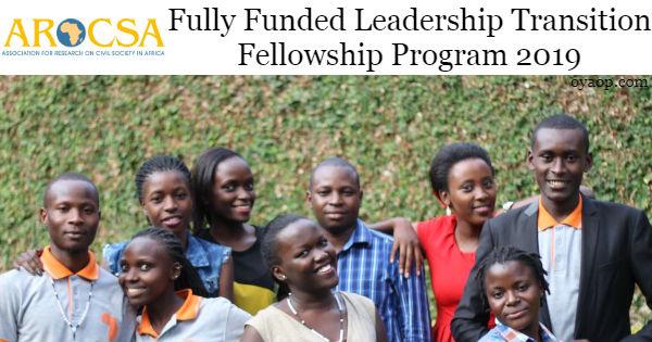 Fully Funded Leadership Transition Fellowship Program 2019