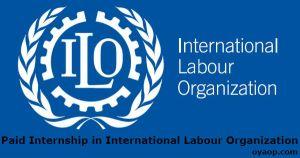 Paid Internship in International Labour Organization