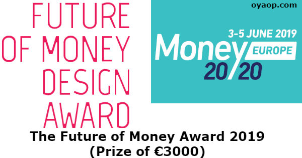 The Future of Money Award 2019 (Prize of €3000)