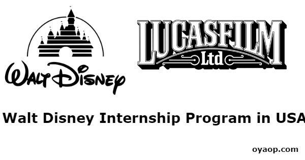 Walt Disney Internship Program in USA