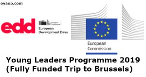 Young Leaders Programme 2019 (Fully Funded Trip to Brussels)