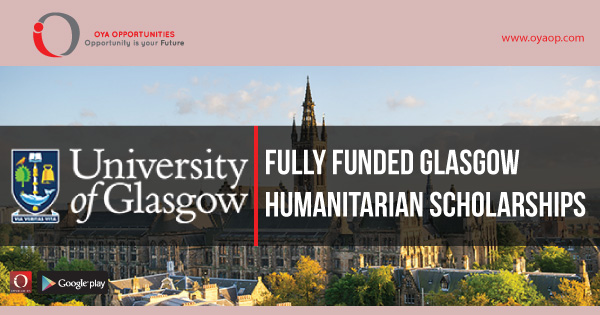 Fully Funded Glasgow Humanitarian Scholarships