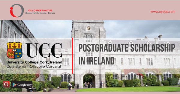 Quercus Taught Masters Scholarships in Ireland, oyaop, oyaop.com, www.oyaop.com, oyaop opportunities, oya opportunities