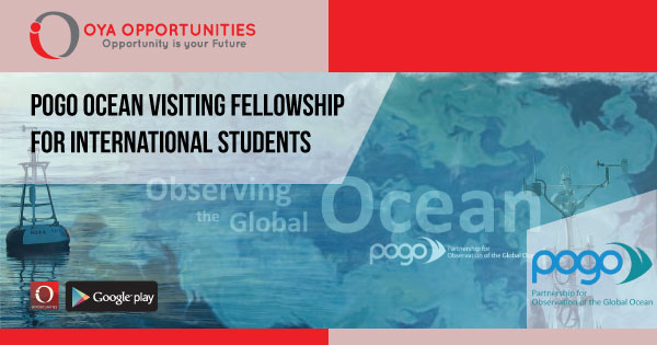 POGO Ocean Visiting Fellowship for International Students