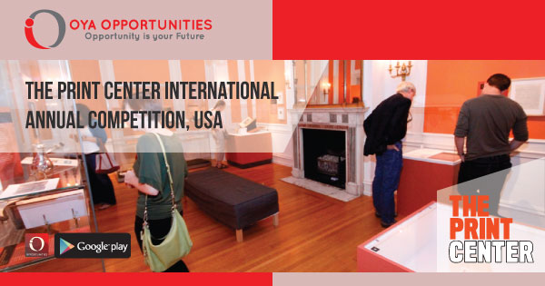 The Print Center International Annual Competition, USA