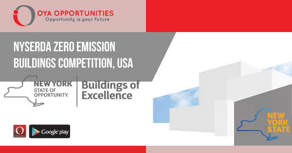 NYSERDA Zero Emission Buildings Competition, USA, Building of Excellence