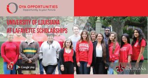 University of Louisiana at Lafayette Scholarships