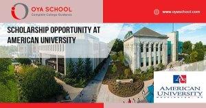 Scholarship Opportunity at American University