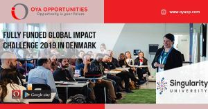 Fully Funded Global Impact Challenge 2019 in Denmark
