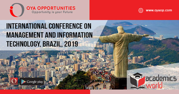 Information Conference on Management and Information Technology, Brazil