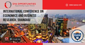 International Conference on Economics and Business Research, Shanghai