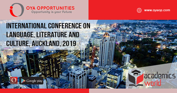 international conference on language, literature, and culture