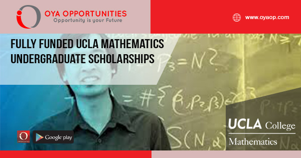 Fully Funded UCLA Mathematics Undergraduate Scholarships