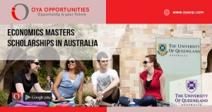Economics Masters Scholarships in Australia