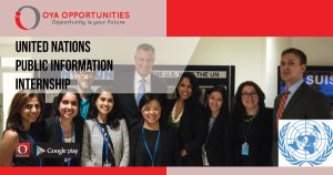 United Nations Public Information Internship