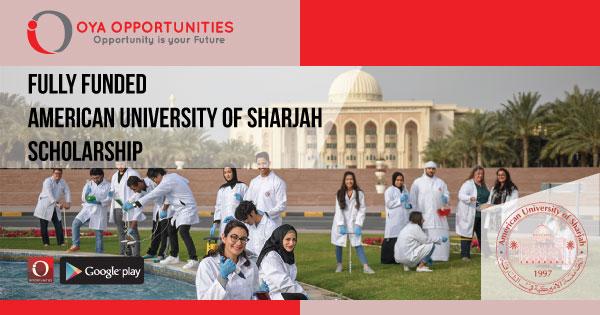 Fully Funded American University of Sharjah Scholarship