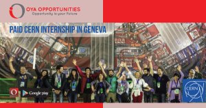 Paid CERN Internship in Geneva