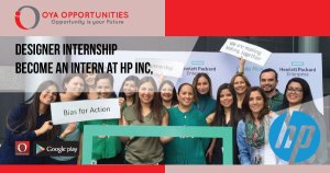 How to become a designer intern at HP? Apply Hp Internship