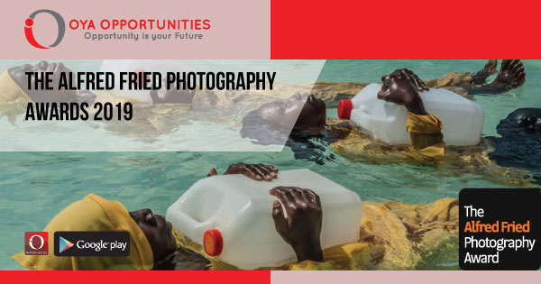 The Alfred Fried Photography Award 2019