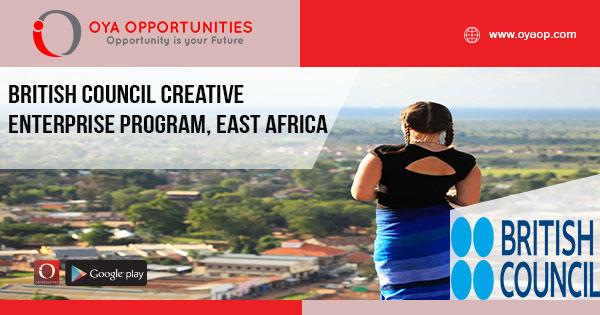 British Council Creative Enterprise Program, East Africa