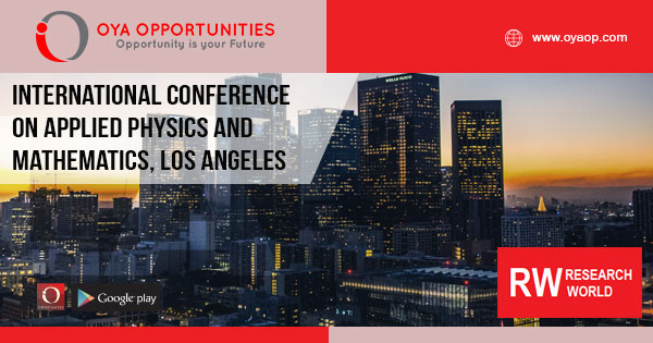 International Conference on Applied Physics and Mathematics, Los Angeles