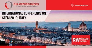 International Conference on STEM 2019, Italy