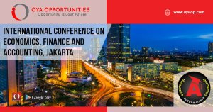 International Conference on Economics, Finance and Accounting 2019, Jakarta