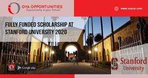 Fully Funded Scholarship at Stanford University 2020