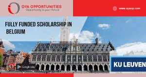 Fully Funded Scholarship in Belgium