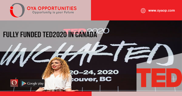 Fully Funded TED2020 in Canada