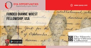 Funded Dianne Woest Fellowship, USA