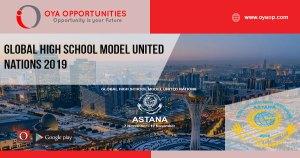 Global High School Model United Nations 2019