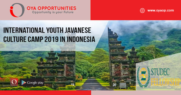 International Youth Javanese Culture Camp 2019 in Indonesia