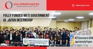 METI Government of Japan Internship Program