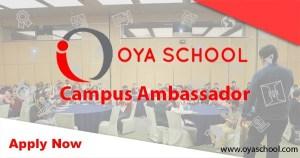 OYA School Campus Ambassador