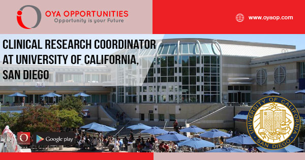 Clinical Research Coordinator at University of California, San Diego