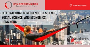 International Conference on Science, Social Science, and Economics, Hong Kong