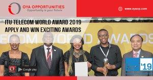ITU Telecom World Award 2019 | Apply and Win Exciting Awards