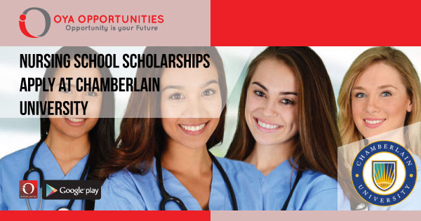 Nursing School Scholarships | Apply at Chamberlain University
