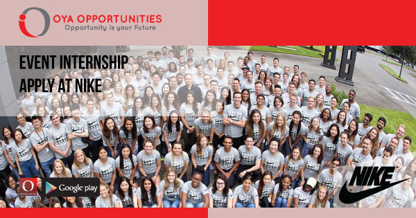 Event Internship | Apply at Nike