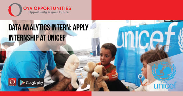 Data Analytics Intern | Apply Internship at UNICEF