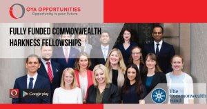 Fully Funded Commonwealth Harkness Fellowships