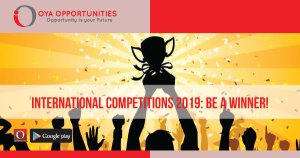 Exciting International Competition 2019: Participate & Win Amazing Prizes!