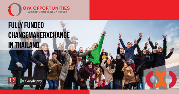 Fully Funded ChangemakerXchange in Thailand