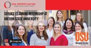 Service Learning Internship at Oregon State University