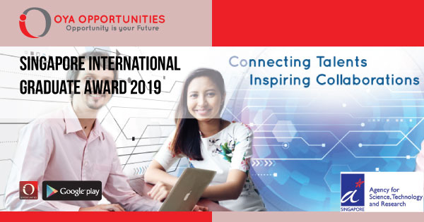 Singapore International Graduate Award 2019