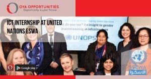 ICT Internship at United Nations ESWA